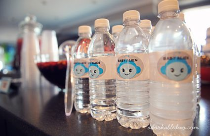 {DIY} Custom Water Bottle Labels