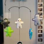 {DIY} Hanging Mobile Frame