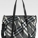 Hello, Burberry Diaper Bag