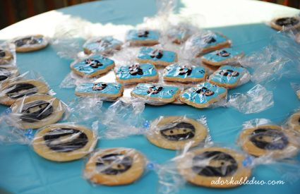 Modern Ninja Baby Shower {Part 1}