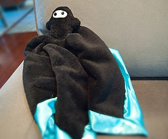 {DIY} Soft Baby Ninja Lovie Security Blanket