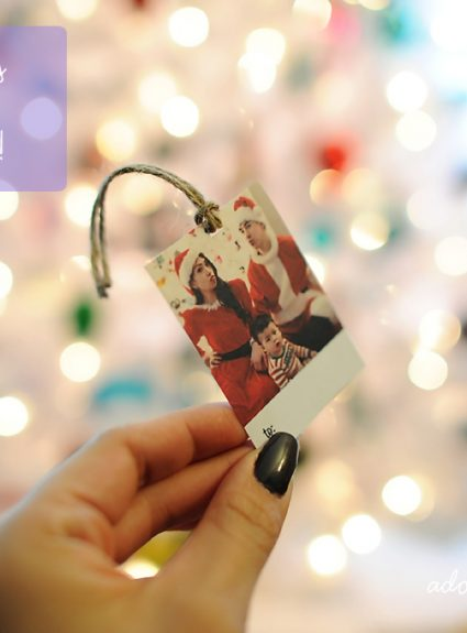 {DIY} Holiday Gift Tags