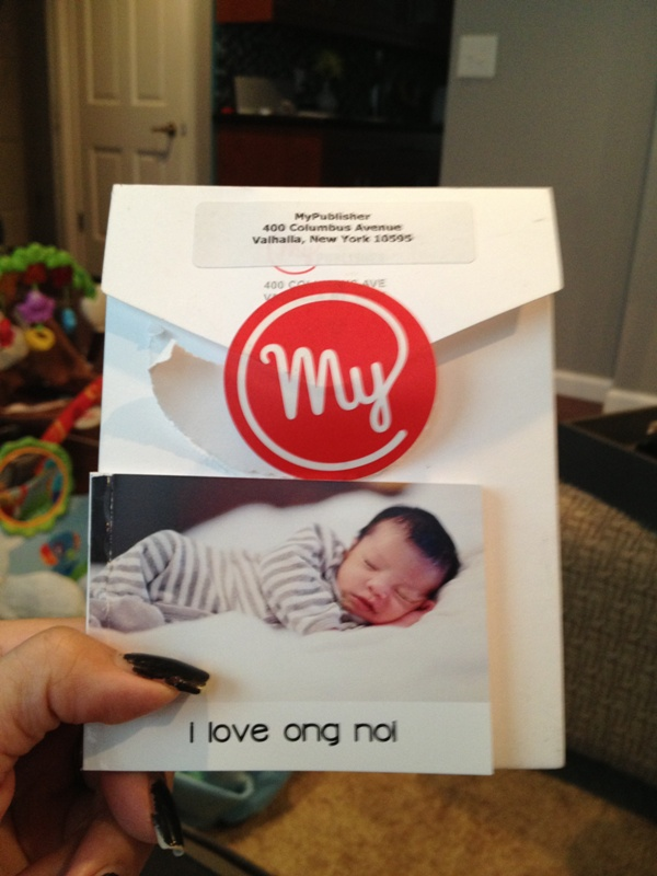 Poor quality MyPublisher mini book and customer service review