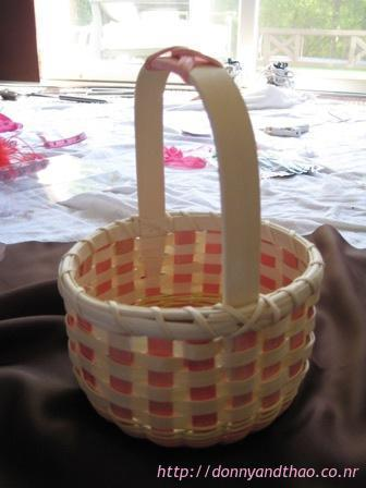 diy flower girl baskets