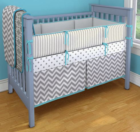 how to make box pleat crib skirt 3