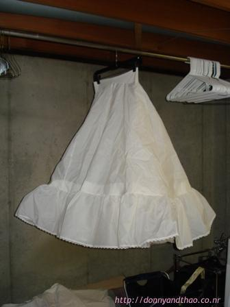 Dying my crinoline diy