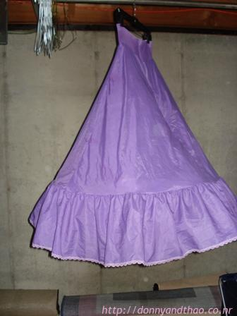 Purple Crinoline/Petticoat on sale