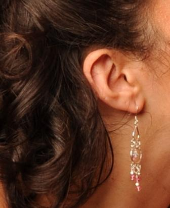 DIY Bridesmaid Earrings