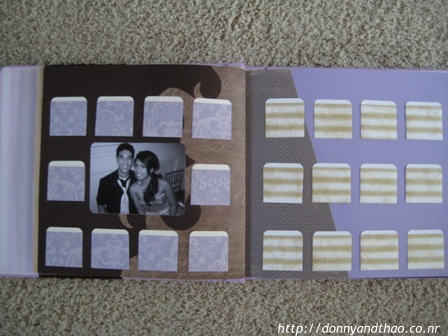 diy wedding scrapbook pages for guestbook