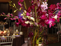 wedding guest table decor