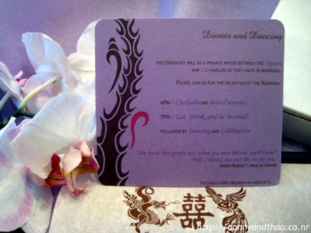 Making the DIY Wedding Invitation Enclosures