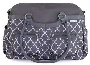 JJ Cole Diaper Bag Satchel in Stone Arbor