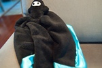 DIY Soft Baby Ninja Lovie Security Blanket