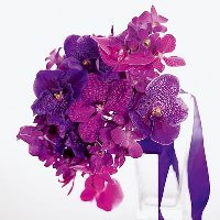 Base orchid bouquet