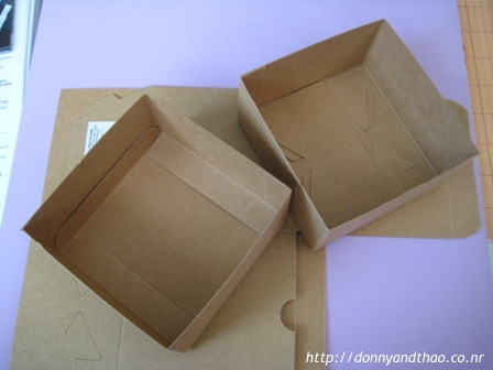 DIY box for scrapbook/guestbook inserts