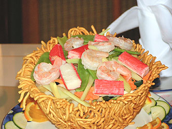 Seafood Bird's Nest