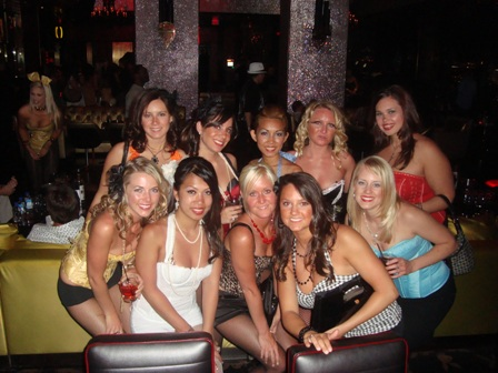 Night Three in VEGAS for bachelorette party