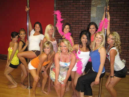 Pole Dancing Class for bachelorette party